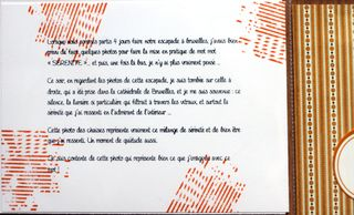Page de gauche texte