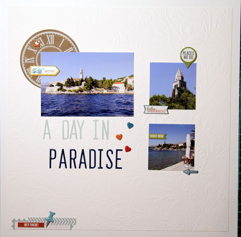 A day in paradise 1