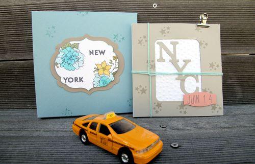 NYC album et écrin